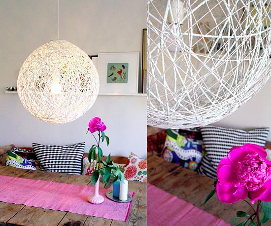 5 Luminárias Para Você Fazer Em Casa ~ Como Fazer Uma Luminaria Para Quarto