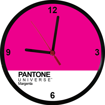 Relógios Pantone Margenta