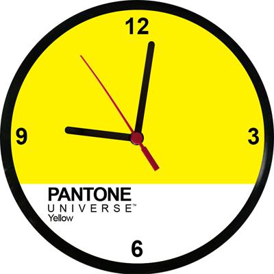 Relógios Pantone Yellow