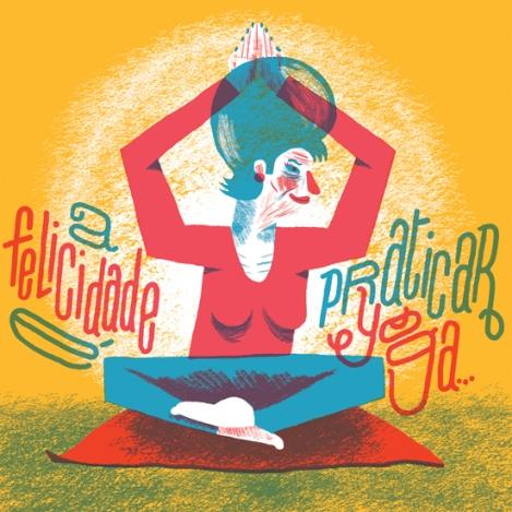 felicidade yoga
