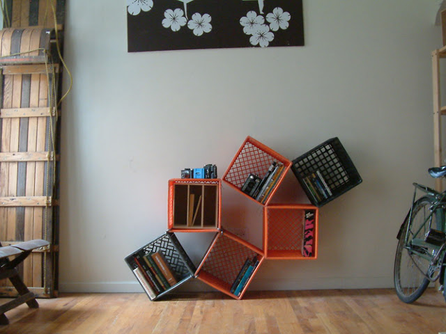 Reutilizando engradados na decora o for Idee di layout di garage